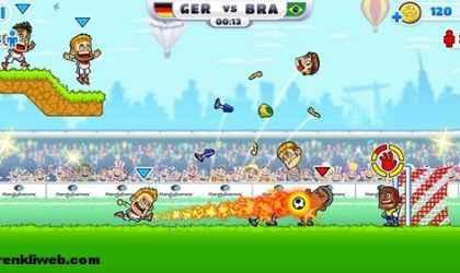 Windows 8 İçin İlginç Futbol Oyunu – Super Party Sports: Football