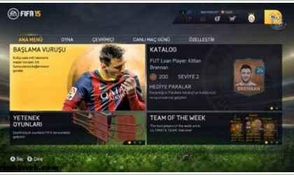 FIFA 15 PC Türkçe Dil Yaması İndir