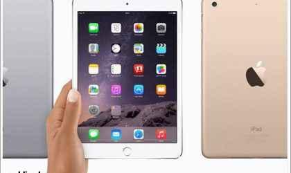 iPad mini 3 ve iPad Air 2 Kaç TL?