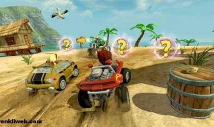 Windows 8.1 İçin Ücretsiz Araba Yarışı Oyunu – Beach Buggy Racing