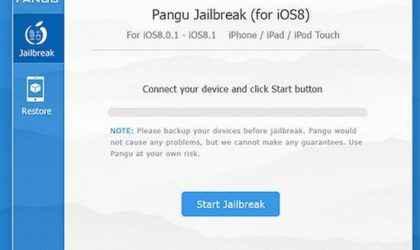 Pangu Jailbreak Programı İle Tek Tıklamada iOS 8 ve 8.1 Jailbreak İşlemi