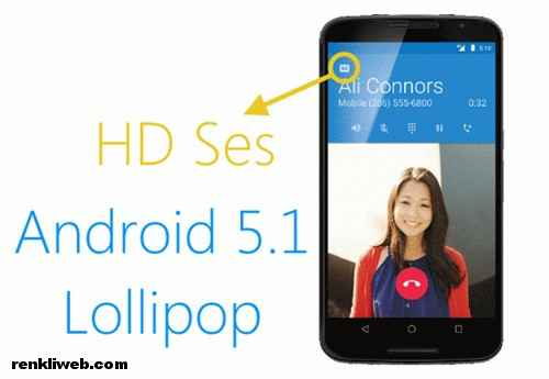 Android 5.1 Lollipop HD ses