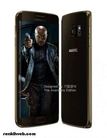 Galaxy S6 Nick Fury