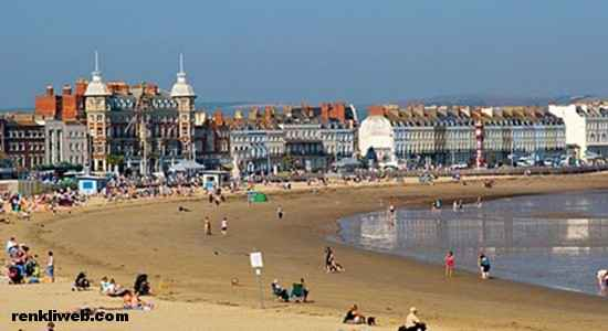 Weymouth Beach, İngiltere