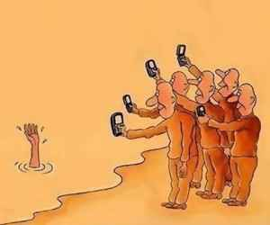 Akıllı Telefonların Zararlarını Anlatan Resimler (İllüstrasyon Resimler )