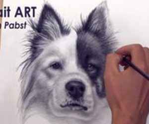 Üç Boyutlu 3D Köpek Çizimi (Videolu Anlatım)