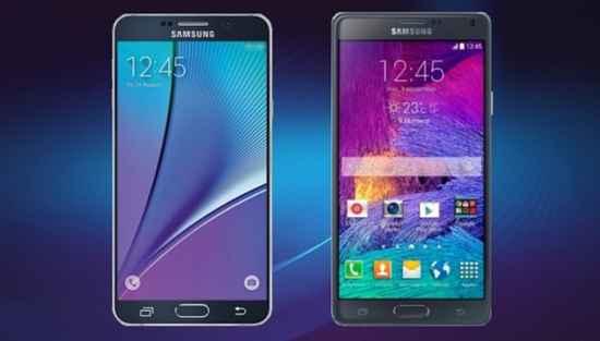 Galaxy Note 5 ve Galaxy Note 4 Karşılaştırması