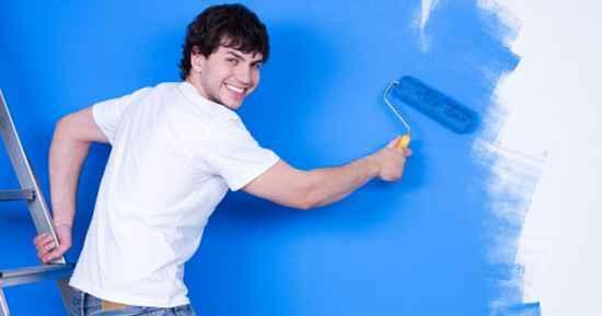 ev boyama duvar boyama boya yapmak