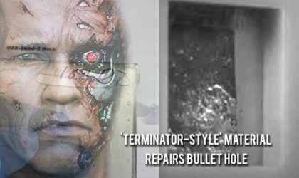 NASA Tarafından Kendi Kendini Onaran Madde Geliştirildi! Terminator Tarzı Malzeme
