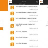 Android İçin ÖSYM Sınav Sonuçları Uygulaması – ÖSYM Mobil İndir