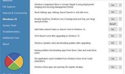 Windows 10 Sorunlarını Düzeltme Programı – FixWin 10 İndir