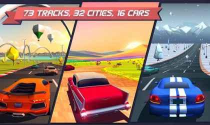 Android İçin Araba Yarışı Oyunu – Horizon Chase – World Tour İndir!