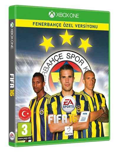 PS, Xbox ve PC İçin FIFA 16 Fenerbahçe Özel Versiyonu Çıktı!