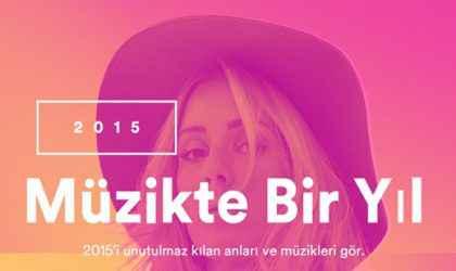 Spotify Türkiye'de 2015'in En Çok Dinlenen Şarkıları ve Sanatçıları