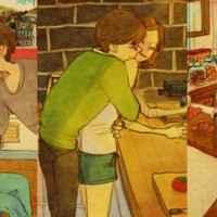 Aşkı Göstermenin En Basit Yolları (Aşkı Anlatan İllüstrasyon Resimler)