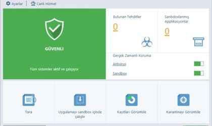 Türkçe Ücretsiz Antivirüs Programı – Comodo Cloud Antivirus İndir!