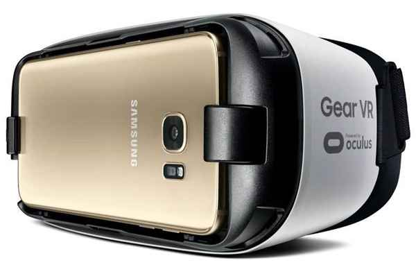 Samsung Galaxy S7 Edge ve gear vr