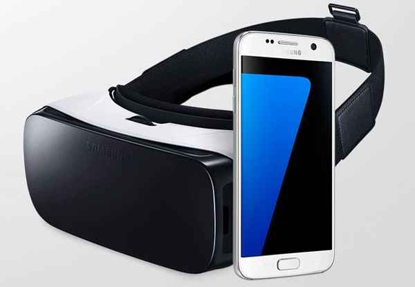 Samsung Galaxy S7 ve gear vr