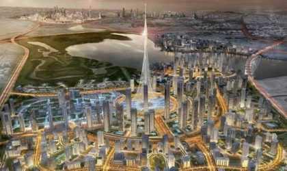 Dünyanın En Yüksek Binası ve Teknolojik Binası Dubai'de İnşa Ediliyor!