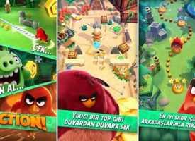 iPhone ve iPad İçin Pinball Benzere Oyun – Angry Birds Action! İndir