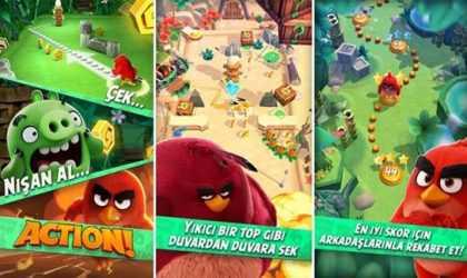 Android İçin Pinball Benzere Oyun – Angry Birds Action! İndir