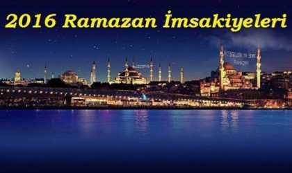 Van Ramazan İmsakiyesi 2016 (Diyanet) – İftar, İmsak, Sahur Vakitleri