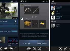 Windows Phone İçin Steam Uygulaması İndir!