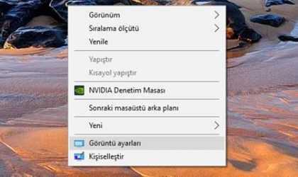 Windows 10'da Ters Dönen Bilgisayar Ekranı Nasıl Düzeltilir?