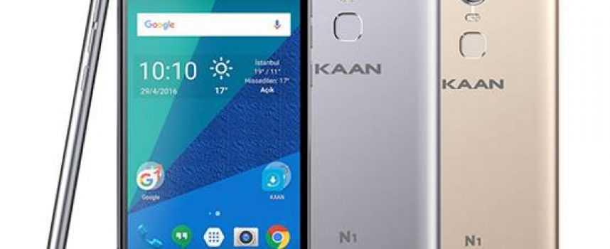 Yerli Akıllı Telefon Çıktı! Kaan N1 Teknik Özellikleri ve Fiyatı