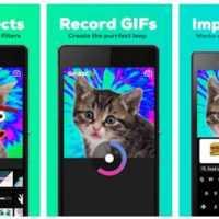 iPhone ve Android İçin Gif Yapma Uygulaması – GIPHY CAM. The GIF Camera İndir!