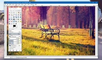 Türkçe ve Ücretsiz Photoshop Yerine Kullanılabilecek Program: GIMP
