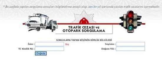 egm trafik cezası sorgulama 1
