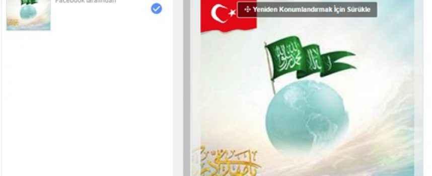 Facebook Profil Resmine Türk Bayrağı Ekleme (Resimli Anlatım)