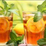 Evde Soğuk Çay Yapımı