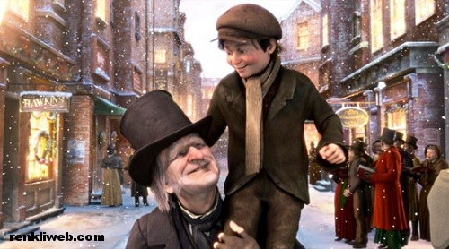 A Christmas Carol, 3D, sinema, film
