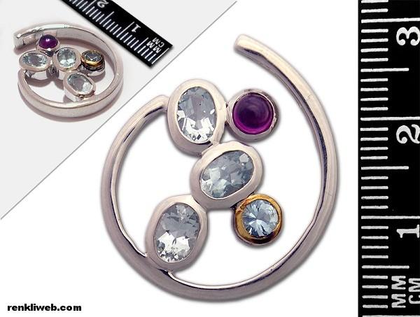 Aquamarine Taşı, cesaret Taşı, değerli taş, takı, mücevher