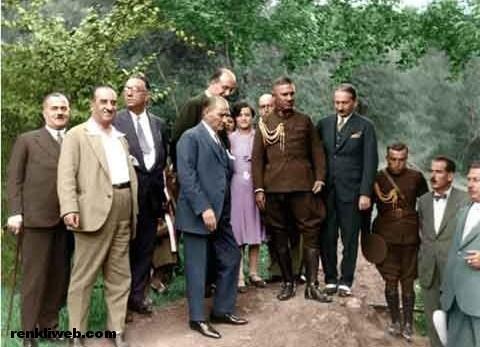 Atatürk, çevre, doğa, ağaç