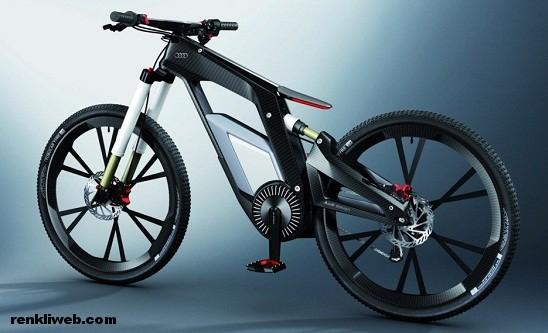 Audi e-bike, bisiklet, elektrik