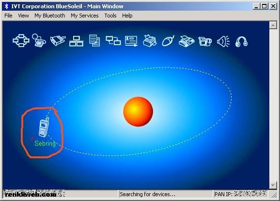 BlueSoleil, bluetooth, program