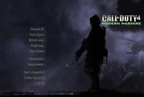 Call of Duty 4 Modern Warfare Türkçe