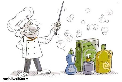 temizlik, mikroorganizma, hastalık