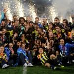 Fenerbahçe'nin Türkiye Kupası Resimleri ve Kupa Töreni