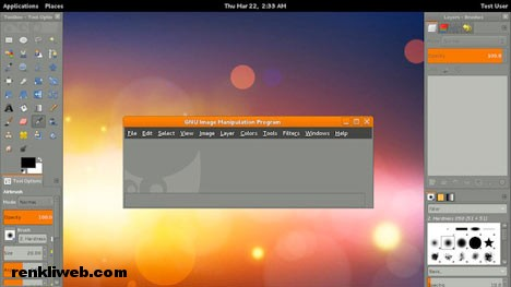 GIMP, photoshop, resim, fotoğraf, yazılım