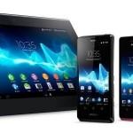 IFA 2012'de Tanıtılan Sony Xperia Tablet ve Telefonlar