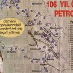 II. Abdülhamid'in Gerçek Petrol Haritası ve Petrol Olan Yerler