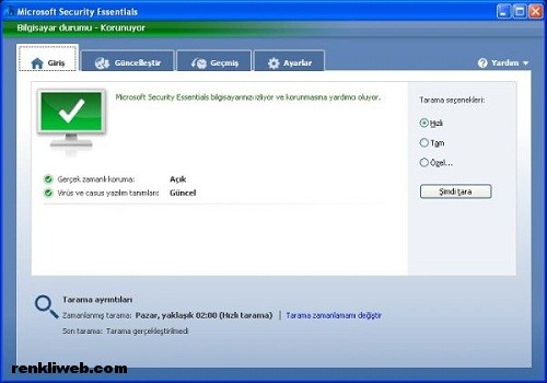 Microsoft, antivirüs, güvenlik, program