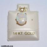 Opal Taşı (Gökkuşağı Taşı) Takıları