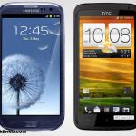 Samsung Galaxy S3 ve HTC One X ATT Karşılaştırması