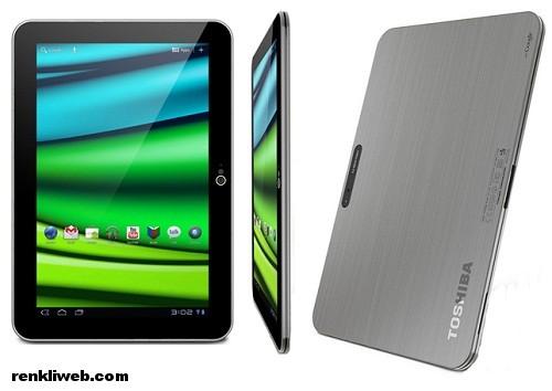 Toshiba, tablet, bilgisayar, android