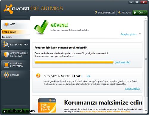 avast, antivirüs, yazılım, program, güvenlik